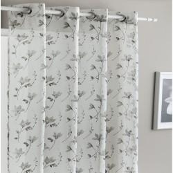 cortina floreada antilo