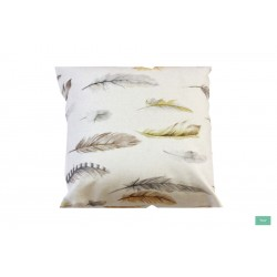 venta online cojines decorativos con plumas